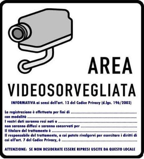 Videosorveglianza condominio privacy
